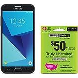 Simple Mobile Samsung Galaxy J7 Sky Pro 4G LTE Prepaid Smartphone