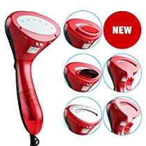 Garment Steamer, Joly Joy  Portable Fabric Clothes Steamer 1500W Powerful with Fast Heat-up, Prefect for Travel and Home