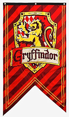 Calhoun Harry Potter House Crest Wall Banner (Gryffindor)
