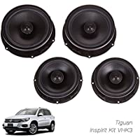 SOUMATRIX VHK3 Inspirit 8 Speaker Sound Upgrade Kit, Set of 4 (Black)