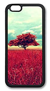 iphone 6 plus 5.5inch Case iphone 6 plus 5.5inch Cases Lone Red Tree TPU Rubber Soft Case Back Cover for iphone 6 plus 5.5inch black
