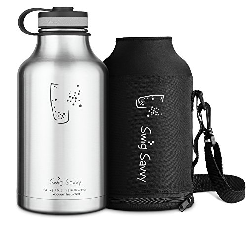 Stainless Insulated Growler Capacity Beverages product image