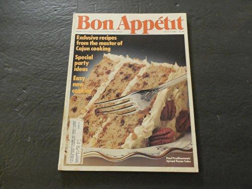 Bon Appetit Mar 1984 Cajun Cooking; Party Ideas; Cookies ()