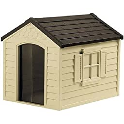 Comfy Dog House, Superior Quality Waterproof Resin Construction