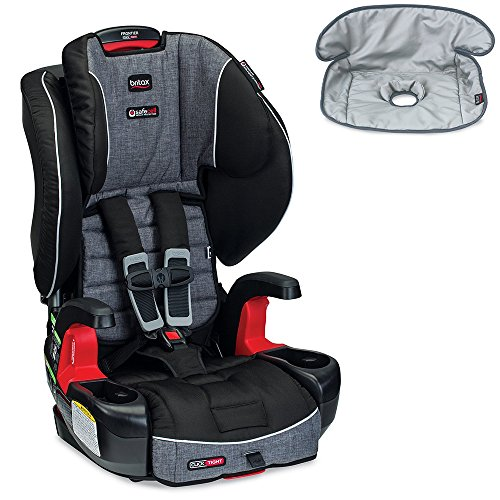 Britax Frontier G1.1 Clicktight Harness-2-Booster Car Seat w Seat Saver Waterproof Liner (Vibe)