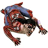 Halloween Haunters 3 Foot Crawling Scary Human Zombie Ghoul Full Body Prop Decoration - Thick Rubber Latex Bloody Mangled Dead Man
