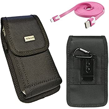 Amazon Com Samsung Galaxy S4 Mini Vertical Leather Case