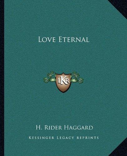 Love Eternal pdf epub