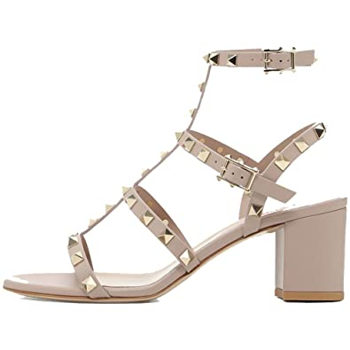 8a9278297 Amazon.com  Comfity Leather Sandals for Women