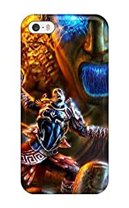 AnnaSanders Iphone 5/5s Well-designed Hard Case Cover Video Game God Of War Protector
