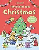 Christmas (Usborne First Sticker Books)