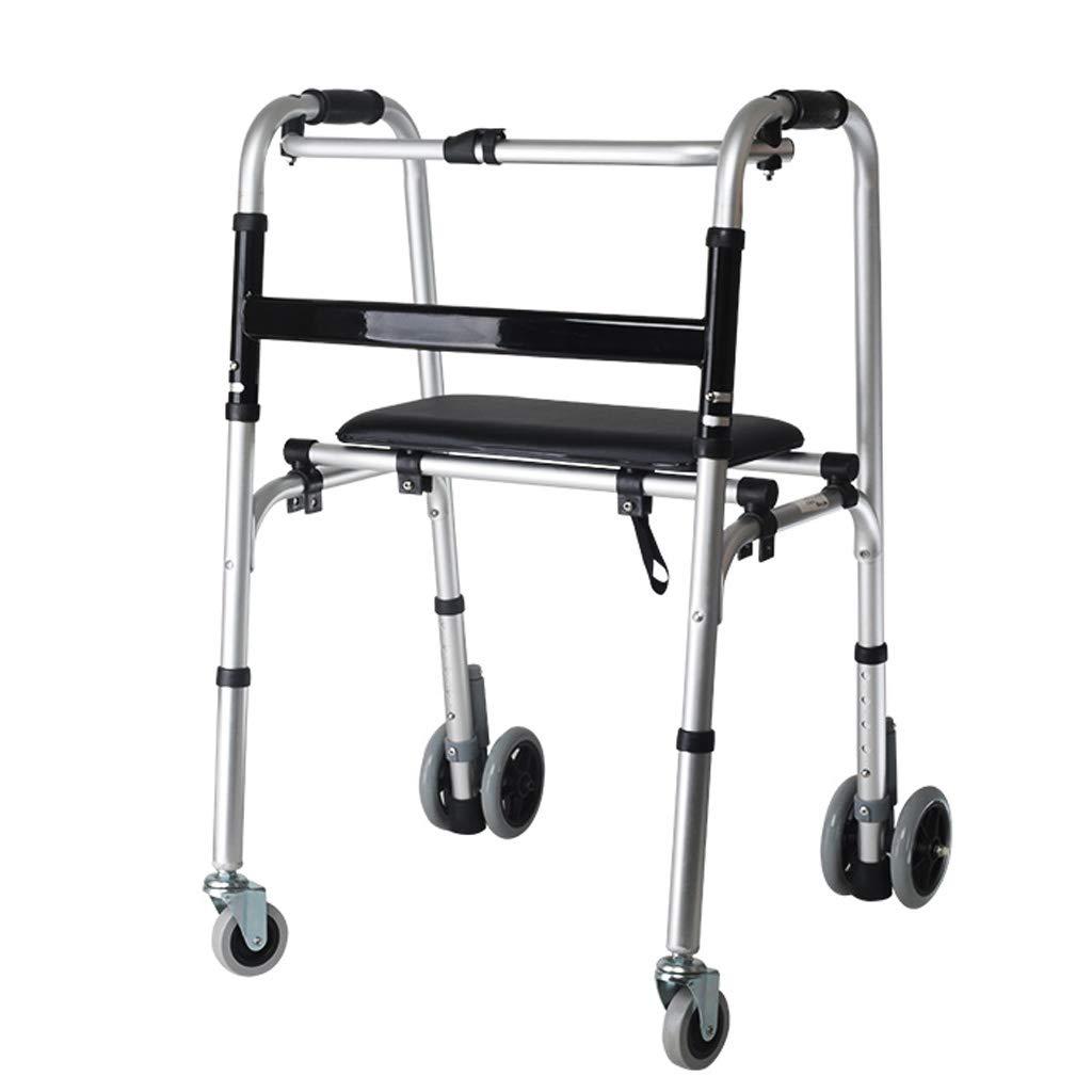 Andador con ruedas plegable para trabajo pesado bariátrico ...
