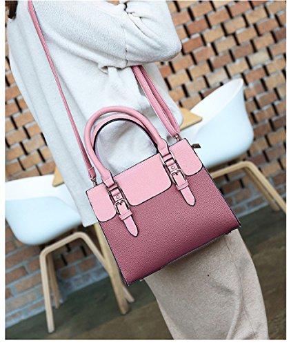 à Jund bandoulière sac brun pour rose femmes Hww5vxz