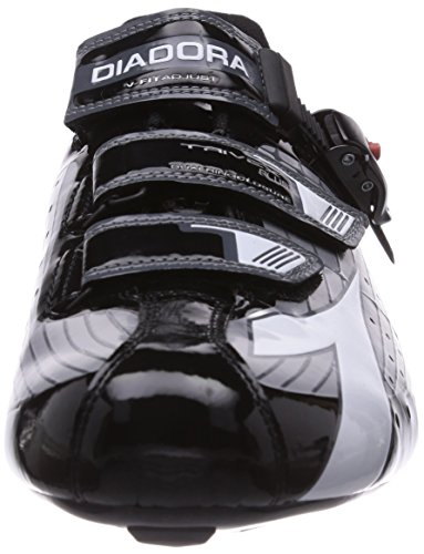 Diadora Trivex Plus - Zapatillas De Ciclismo para hombre Argento (Silber (silber/schwarz/weiß 1147))