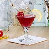 Set of 6 Libbey 3701 Embassy 3 oz Mini Martini