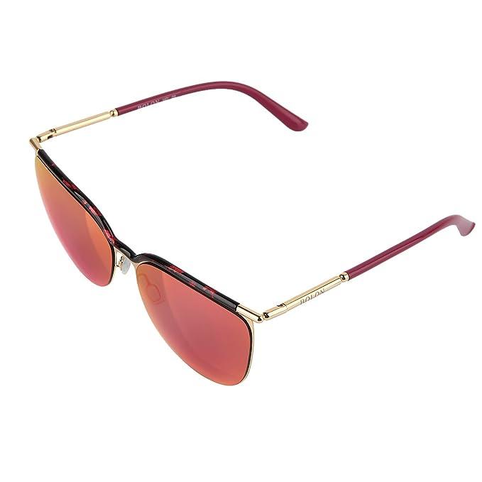 BOLON - Gafas de sol - para mujer Rojo rosso: Amazon.es ...