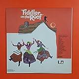 FIDDLER ON THE ROOF Soundtrack UAS 10900 Dbl LP Vinyl VG+Txtrd Cvr GF Booklet