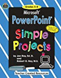 Microsoft PowerPoint, Grades 5-8, Bob Ray, 1576907325