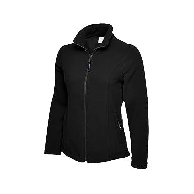 Abrigo con forro polar para mujeres, para el exterior, caminar etc. UC607 de Uneek, tallas grandes Negro negro 44/XL: Amazon.es: Ropa y accesorios