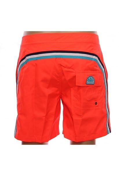 6d3d65288d55 Sundek - Costume Mare Uomo Arancione Fluo Costumi M534BDTA100arancio -  Arancio, 27