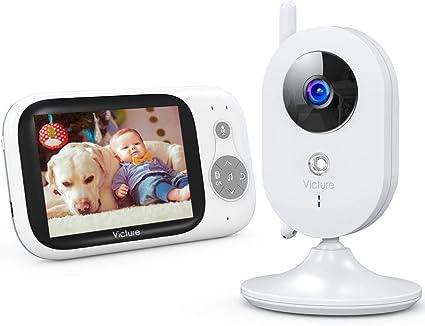 Victure Vigilabebés Inalambrico con cámara, Monitor para Bebés ...
