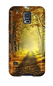 Melissa Jean Carpenter Case Cover Protector Specially Made For Galaxy S5 Autumn by lolosakes