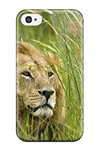 Florence D. Brown's Shop Durable Case For The Iphone 4/4s- Eco-friendly Retail Packaging(lion) 2097099K80739066