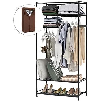 Amazon Com Lifewit Heavy Duty Wire Shelving Wardrobe