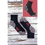 Sock Snob Chaussettes de travail à la cheville en coton rembourré ultime pour hommes pour bottes à bout en acier 9