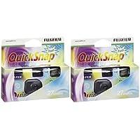 Fujifilm Quicksnap Flash 27 Pack de 2 Appareils Photo jetable ISO 400
