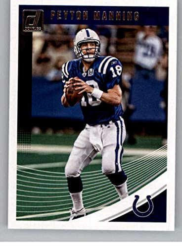 - 2018 Donruss Football #84 Peyton Manning Indianapolis Colts Official NFL Trading Card