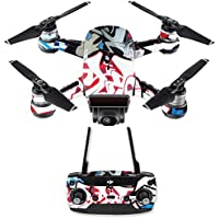 Skin for DJI Spark Mini Drone Combo - Graffiti Mash Up| MightySkins Protective, Durable, and Unique Vinyl Decal wrap cover | Easy To Apply, Remove, and Change Styles | Made in the USA