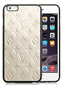 Hot Sale iPhone 6 Plus/iPhone 6S Plus 5.5 TPU Inch Case ,Milky Leather L&V Patterns Black iPhone 6 Plus/iPhone 6S Plus Cover Unique And High Quality Designed Phone Case