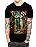 Stand-Zone My Dying Bride Feel The Misery Men Black T Shirt For Mens (Medium)