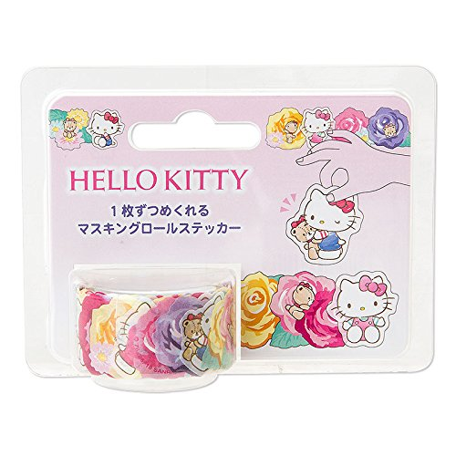 Sanrio Hello Kitty masking roll stickers From Japan (Hello Kitty Roll)