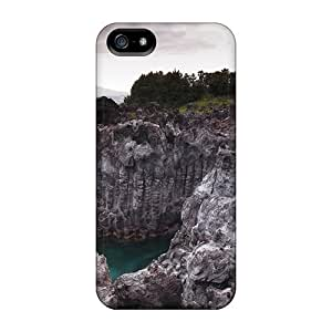 Bernardrmop Case Cover For Iphone 5C - Retailer Packaging Amazing Rock Formation On Rugged Coast Protective Case Kimberly Kurzendoerfer