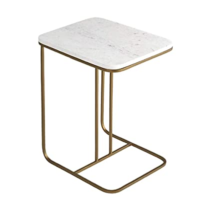 Amazon Com Xbbz Nordic Marble Side Coffee Table Simple Living