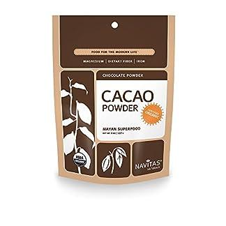 Organic Raw Cacao Powder by Navitas Naturals, 8 oz (2)