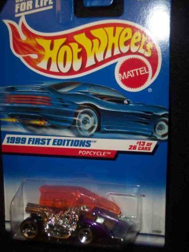 1999 First Editions - 13 Popcycle lila  913 Mint by Hot Wheels