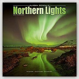 Wonderful Northern Lights Calendar   Aurora Borealis Calendar   Calendars 2016   2017  Wall Calendars   Photo Calendar   Northern Lights 16 Month Wall Calendar By  ...