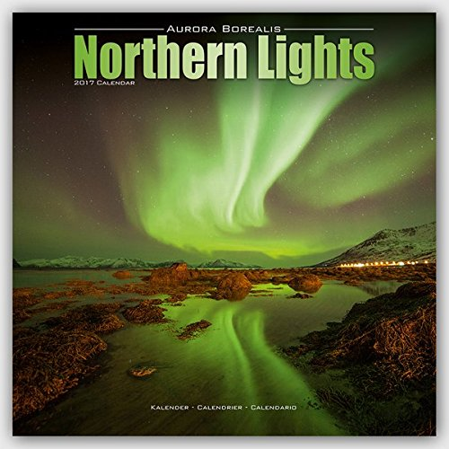 16 Month 2016 Wall Calendar - Northern Lights Calendar - Aurora Borealis Calendar - Calendars 2016 - 2017 Wall Calendars - Photo Calendar - Northern Lights 16 Month Wall Calendar by Avonside