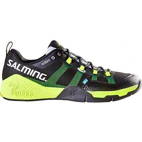 Salming Kobra Men's Shoe Black/Yellow (8)