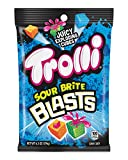 Trolli Sour Brite Blasts, 6.3 Ounce Peg Bag (Pack of 8) Sour Gummy Candy