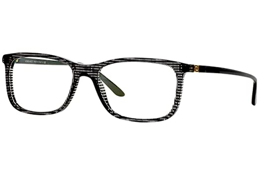 3be802c2c97b Amazon.com  Versace Men s VE3197 Eyeglasses Black Rule 55mm  Shoes