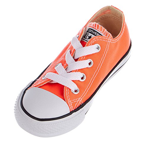 Converse Kids' CTAS-Ox K, Hyper Orange, 6 M US Toddler