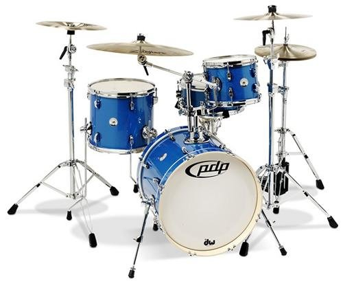 - PDP New Yorker 4-Piece Shell Pack Sapphire