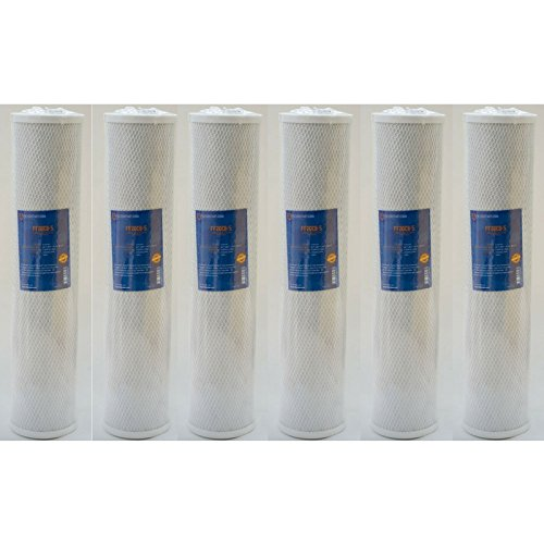 Pentek Part Number (FiltersFast Compatible Replacement for Pentek EP-20BB Comp Water Filter - 6 Pack)