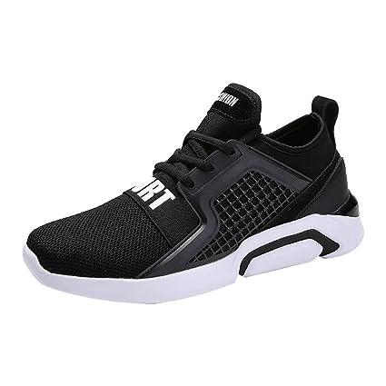 Zapatillas de Running para Hombre,ZARLLE Zapatillas de Deporte Hombres Zapatos de Gimnasia Para Caminar