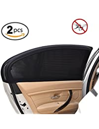 Uarter Universal Car Side Window Baby Breathable Shade Mesh (2 Pcs) Fits Most Cars BOBEBE Online Baby Store From New York to Miami and Los Angeles