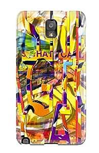 New Tpu Hard Case Premium Galaxy Note 3 Skin Case Cover(music Art )